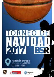 Cartel I Torneo BSR Leganés