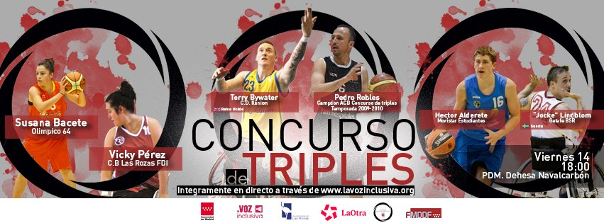 Cartel-Concurso Triples