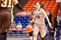 Boise State Women's Basketball V. Wyoming Devin Ferrell