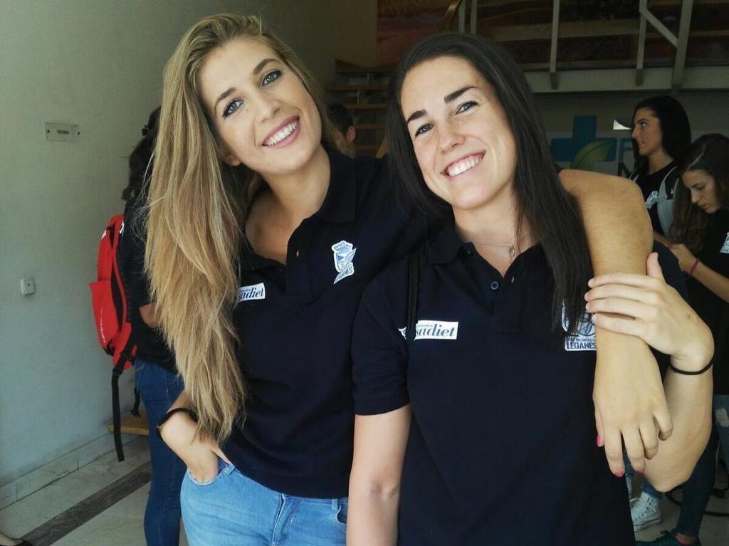 Paula con Espin